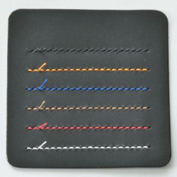 ステッチ(縫い糸)カラー見本 ブラック