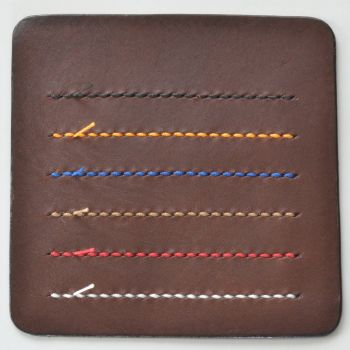 ステッチ(縫い糸)カラー見本 ブラウン