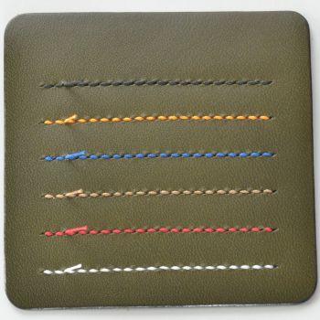 ステッチ(縫い糸)カラー見本 グリーン