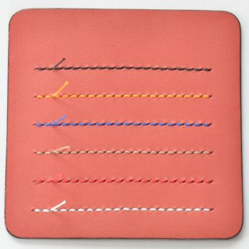 ステッチ(縫い糸)カラー見本 ピンク