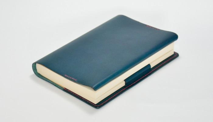 ブックカバー 革製 リスシオ 2