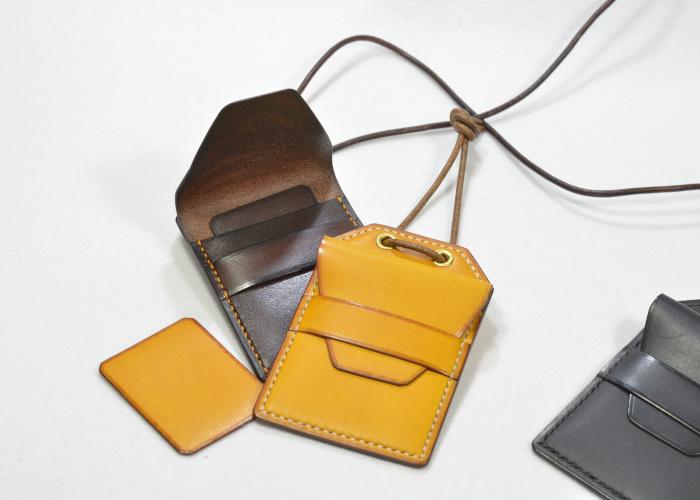 革製お守りケース photo1