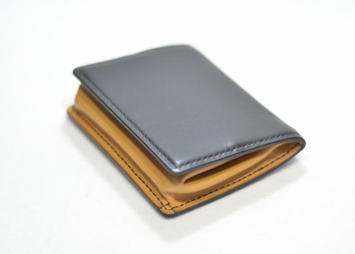 手縫いボックス型コインケース photo1