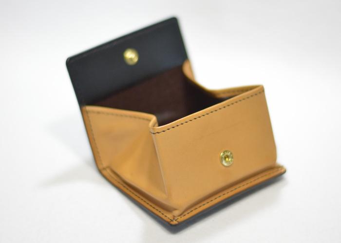 手縫いボックス型コインケース photo2