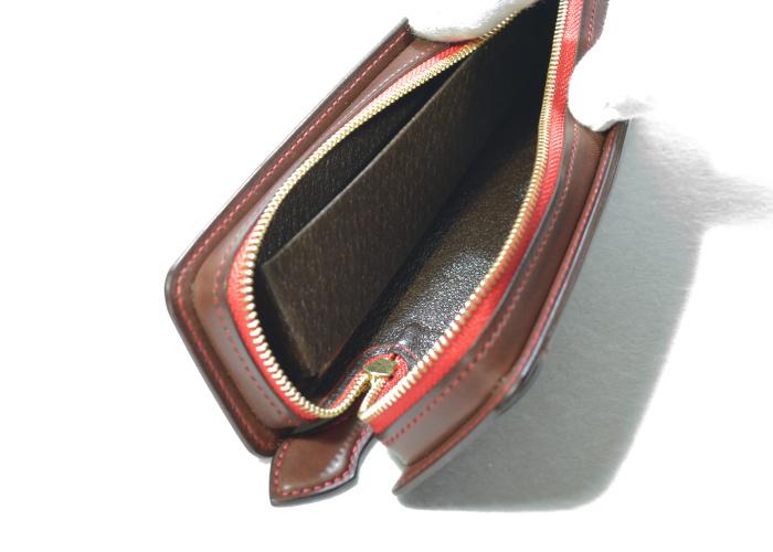 レクタングラー ファスナーテープカラー レッド 内ポケット・定規ポケット付き photo3