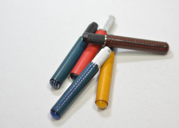 鉛筆補助軸革巻き photo4